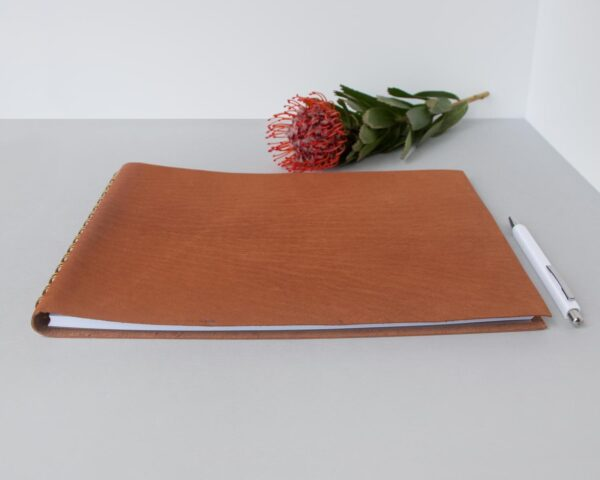Leather-Guest-Book-wedding