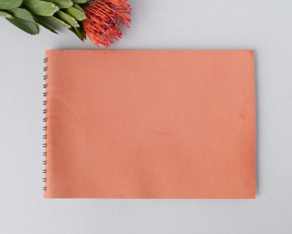 Wedding-guest-book-kangaroo-leather